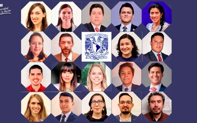 Estudiantes de la UNAM reciben beca Fulbright-García Robles para estudios de posgrado en Estados Unidos - becas unam