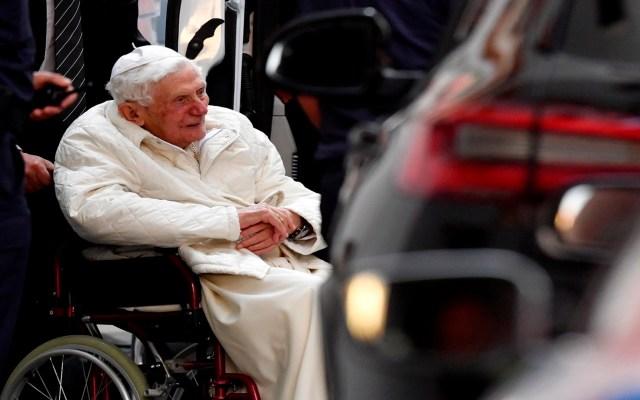 Papa emérito Benedicto XVI está gravemente enfermo, asegura biógrafo - Foto de EFE