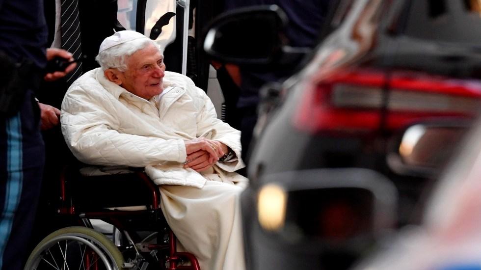 Benedicto XVI regresará al Vaticano tras visitar a su hermano en Alemania - Foto de EFE