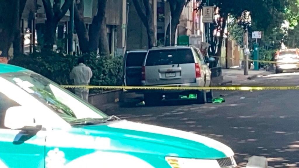 Hallan camioneta de comando en inmediaciones de la SSC tras ataque a García Harfuch - camioneta SSC atentado García Harfuch