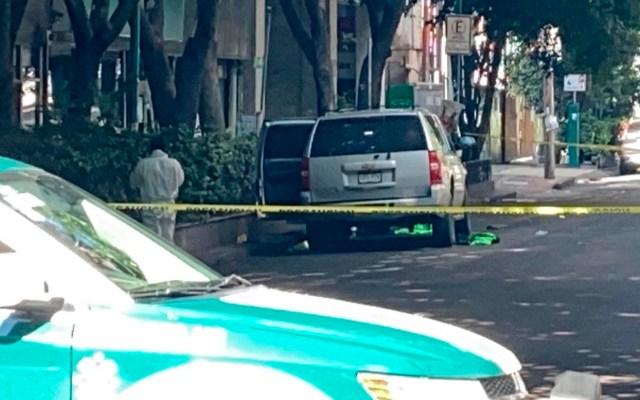 #Video Localizan bodega de donde salieron algunos vehículos involucrados en ataque contra García Harfuch - camioneta SSC atentado García Harfuch