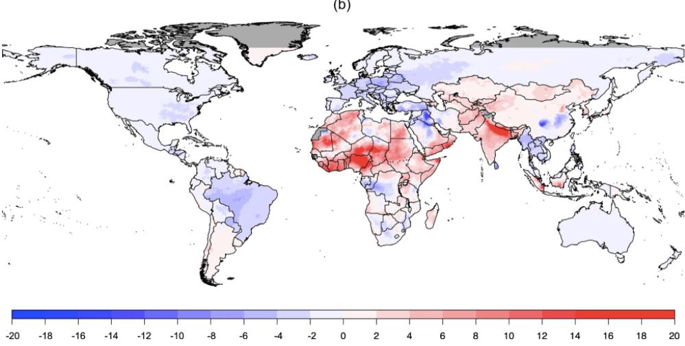 contaminación del aire mundial