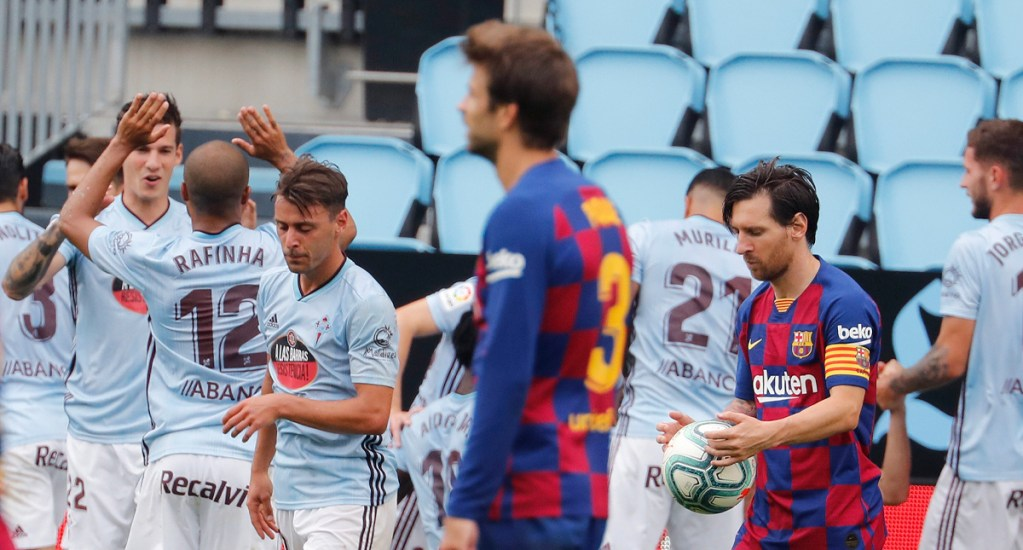 Iago Aspas rescata el empate del Celta contra Barcelona - Celta vs Barcelona