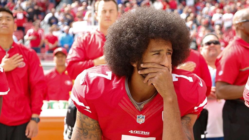 Las protestas raciales en el deporte de Estados Unidos - Colin Kaepernick