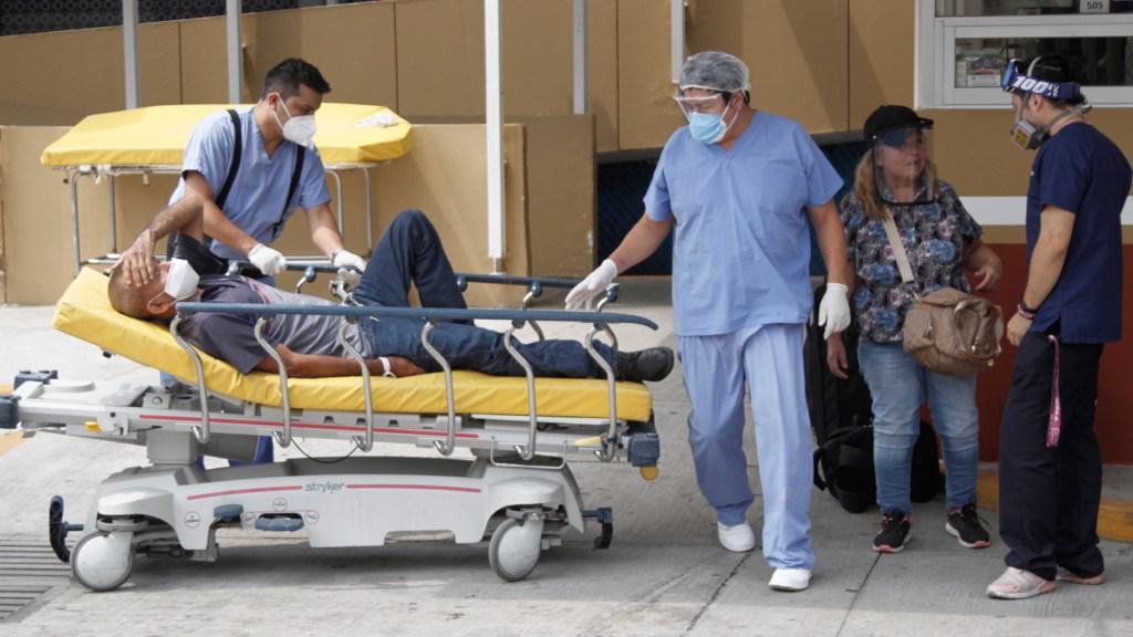 Hospital General de México, en Semáforo Rojo por COVID-19 - COVID-19 coronavirus Ciudad de México hospital paciente