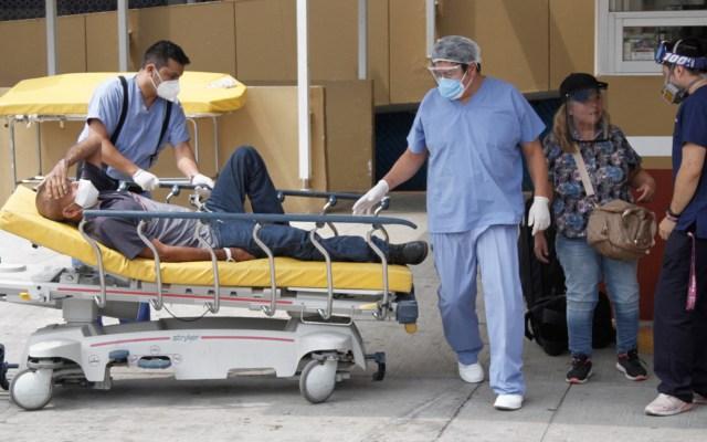 México alcanza las 46 mil defunciones por COVID-19; en las últimas horas se registraron 7, 730 contagios - COVID-19 coronavirus Ciudad de México hospital paciente