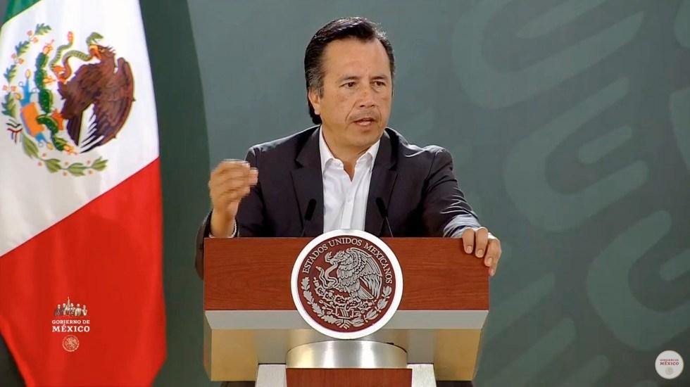 """""""No es momento de hacer grupos separatistas"""", Cuitláhuac García respalda estrategia federal ante COVID-19 - Cuitláhuac García Jiménez"""