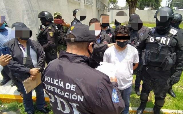 Detienen a dos hombres más por atentado contra Omar García Harfuch - Detención de un hombre posiblemente relacionado al atentado contra García Harfuch. Foto de @FiscaliaCDMX