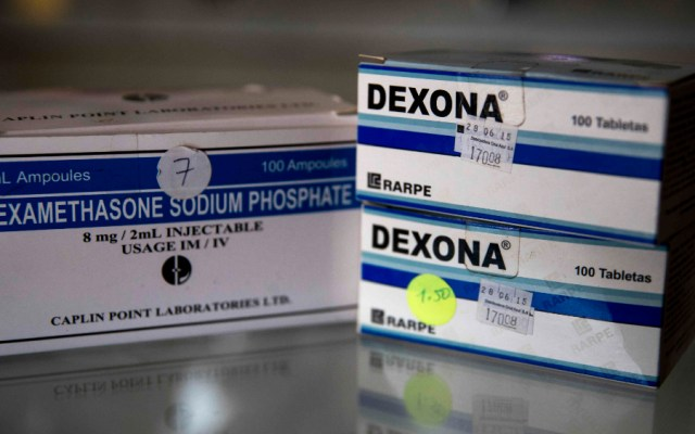 OMS exhorta a incrementar producción y distribución masiva de dexametasona - Foto de EFE