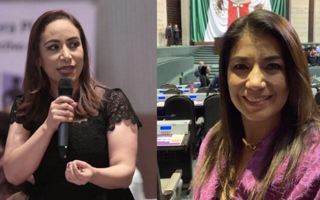 Diputadas del PAN dan positivo a COVID-19 - Diputadas Adriana Dávila y Josefina Salazar COVID-19
