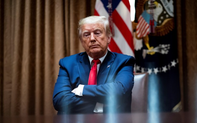 Baja 10 puntos aprobación de la gestión de Donald Trump - Trump