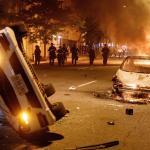 Manifestantes desafían el toque de queda en Washington