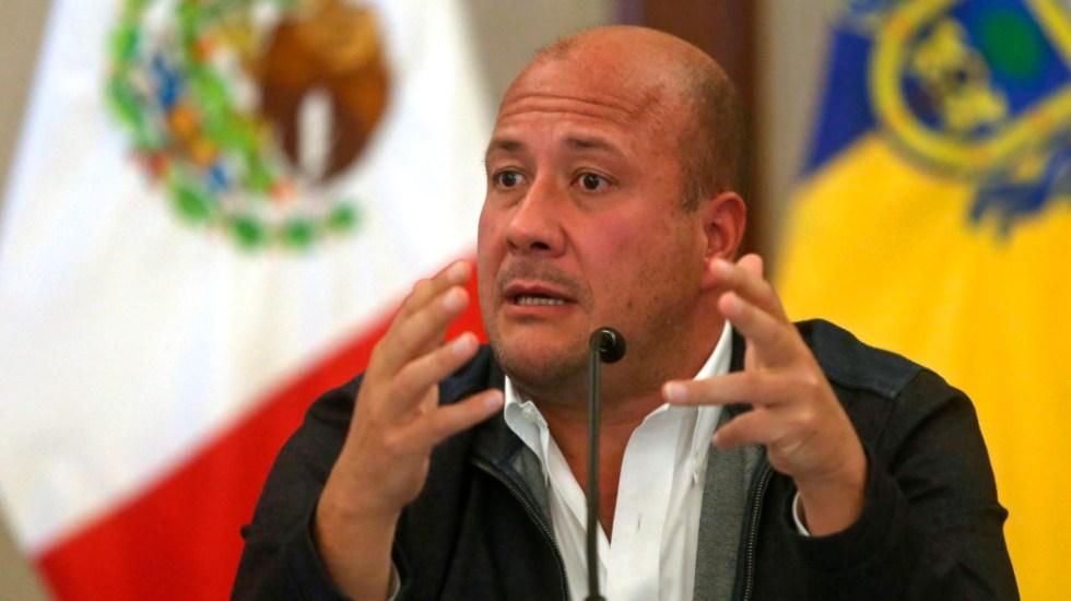 """""""Que cuenten con nosotros"""": AMLO sobre amenazas a gobernador de Jalisco y presidenta de CNDH - Foto de EFE"""
