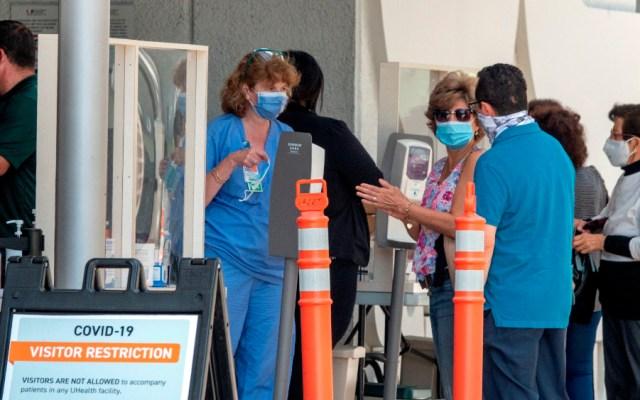 Florida marca un récord de contagios diarios de COVID-19, con más de 5 mil 500 nuevos casos - Foto de EFE