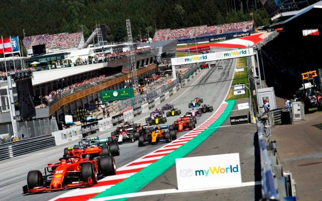 Fórmula 1 anuncia carreras inaugurales de la temporada 2020 - Fórmula 1 coronavirus COVID-19