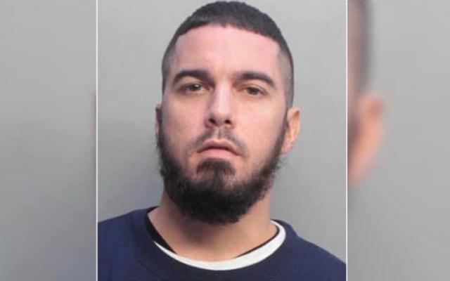 Investigan muerte de joven que incendió patrulla en Miami - Giovanni Franchesko Fernández. Foto de Policía de Miami Dade