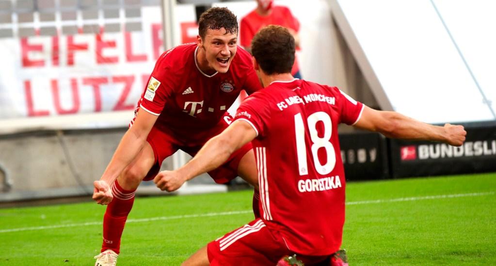 Bayern a una victoria del título tras imponerse al Borussia Mönchengladbach - Gol de Leon Goretzka del Bayern