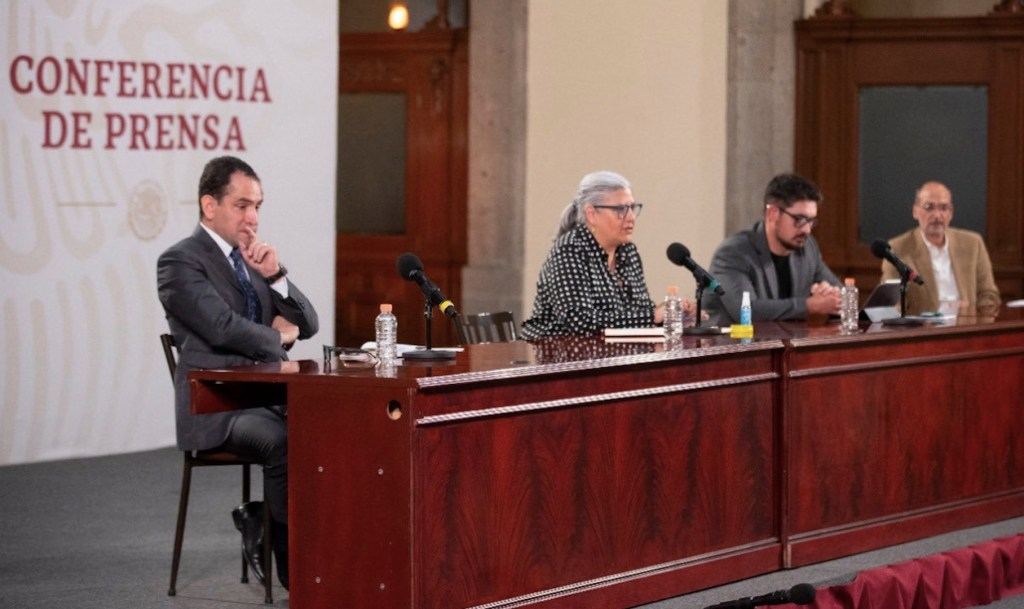 Graciela Márquez se mantiene en resguardo tras contacto con secretario de Hacienda - Foto de Twitter Secretaría de Economía
