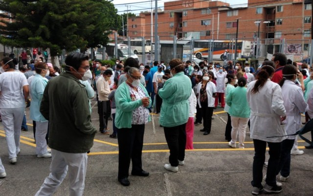 Saldo blanco en red hospitalaria del IMSS tras sismo - IMSS médicos personal sanitario sismo hospital