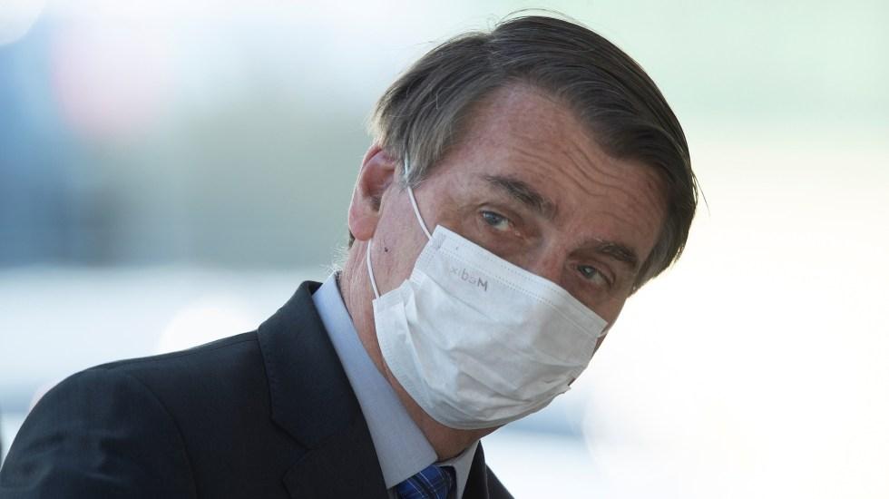 Jair Bolsonaro presenta síntomas de COVID-19, afirma CNN - Jair Bolsonaro