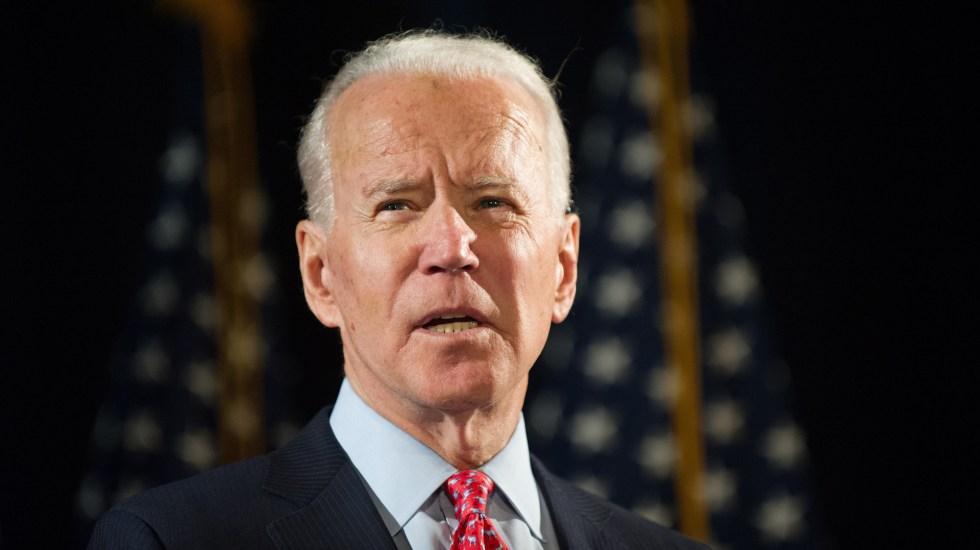 Joe Biden aventaja en Minnesota con 67 por ciento de los votos contabilizados - Joe Biden se reunirá este lunes con la familia de George Floyd, un día antes del último funeral en su memoria. Foto de EFE
