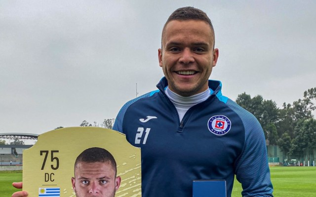 Jonathan Rodríguez regresa a entrenar con Cruz Azul tras recuperarse de COVID-19 - Jonathan Rodríguez