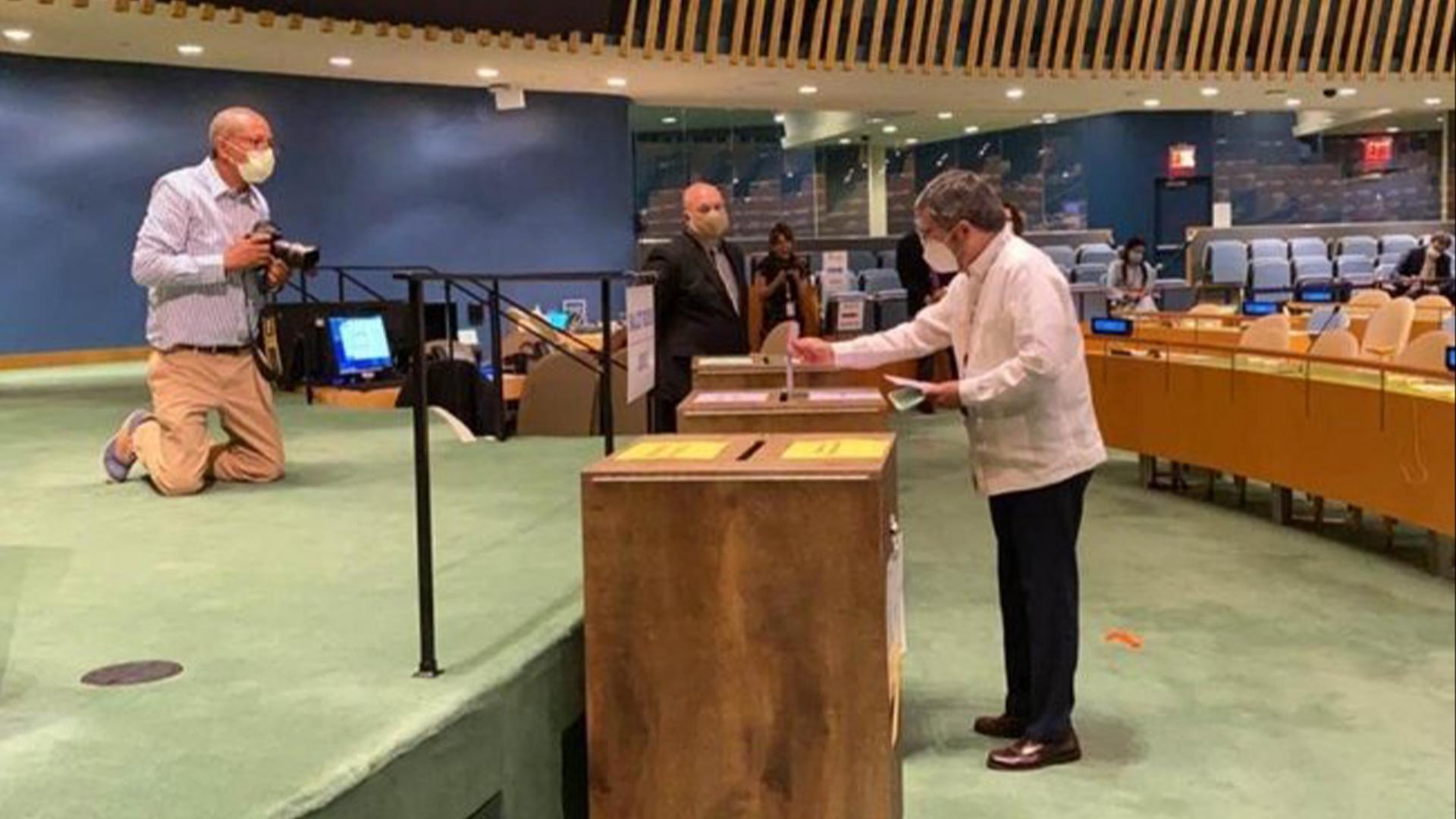 México vota por un lugar en Consejo de Seguridad de la ONU