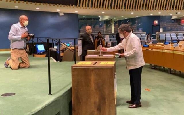 México tiene un asiento en la mesa de las grandes decisiones del mundo: De la Fuente - El Embajador Juan Ramón de la Fuente, Representante Permanente de México en la ONU Foto Especial / MexOnu.