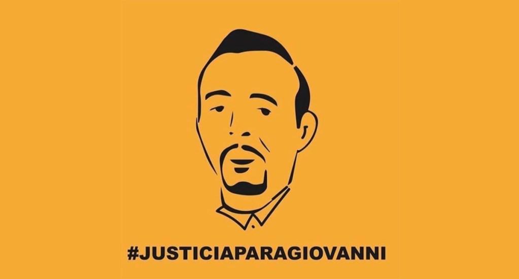 """""""No es abuso de autoridad. Es asesinato""""; Del Toro sobre muerte de Giovanni - #JusticiaParaGiovanni. Foto Especial / Twitter"""