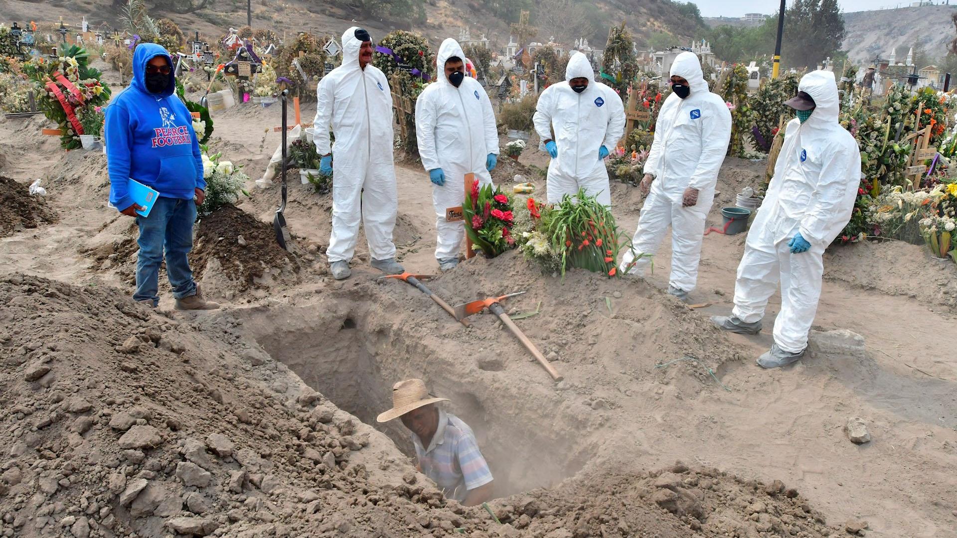 Latinoamérica muertes México coronavirus COVID-19