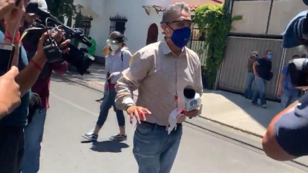 """Operan a reportero de Radio Fórmula tras agresión de """"anarcos"""" en la Ciudad de México - Foto de captura de pantalla"""