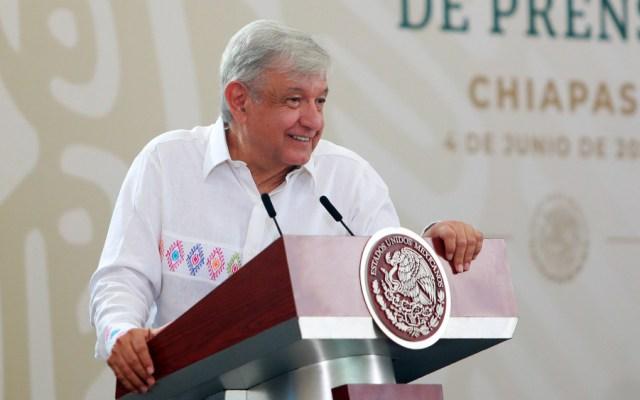 Estar bien con la conciencia, no mentir, no robar, ayuda mucho contra COVID-19: AMLO - En la foto, Andrés Manuel López Obrador. Foto de Notimex