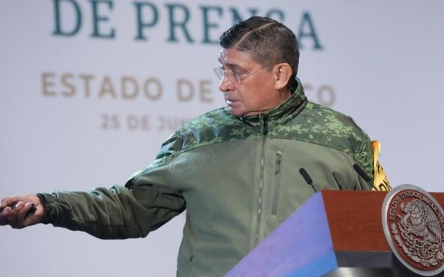 Sedena confirma que seis grupos criminales operan en la Zona Metropolitana del Valle de México - Luis Cresencio Sandoval Sedena