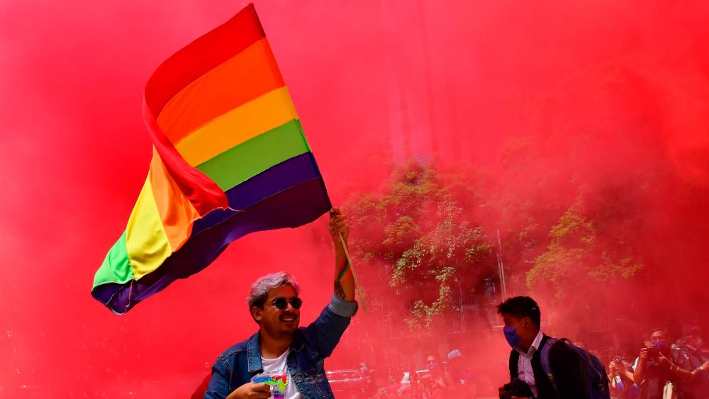Comunidad LGBT de México triunfa con la marcha en línea más grande del mundo - Foto de EFE