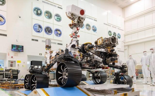 El rover de Marte transmitirá por primera vez el sonido de otro mundo - Marte rover planeta exploración