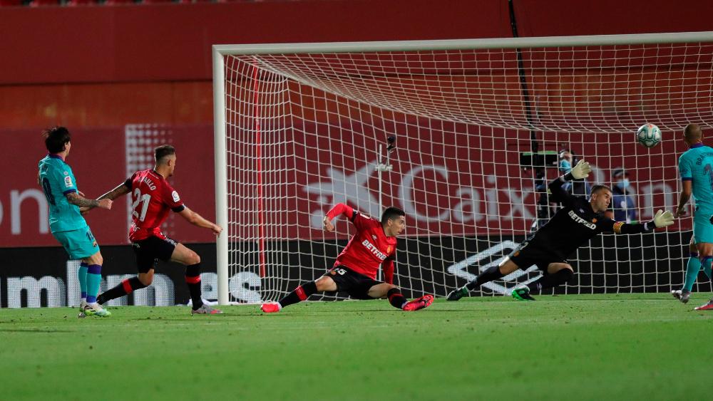 Barcelona golea en Mallorca y se afianza en el liderato de LaLiga - Foto de EFE