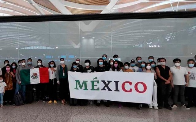 En camino vuelo 18 desde Shangái con 54 mexicanos e insumos médicos - mexicanos Shangái coronavirus COVID-19