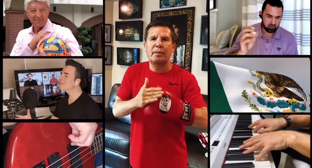 #Video Personalidades mexicanas homenajean a personal médico con canción - México cuenta conmingo Deportistas