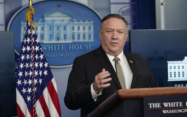 UE y Pompeo abordarán relaciones con China y Medio Oriente - Mike Pompeo, secretario de Estado de Estados Unidos. Foto de EFE