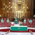 Misa Dominical del Cardenal Carlos Aguiar Retes desde la Basílica de Guadalupe - Foto de @DesdeLaFe