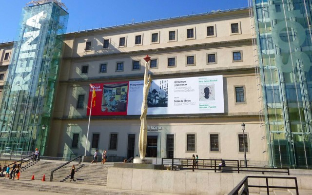 Museo Reina Sofía de Madrid toma medidas sanitarias a dos días de su reapertura - Museo Reina Sofía de Madrid