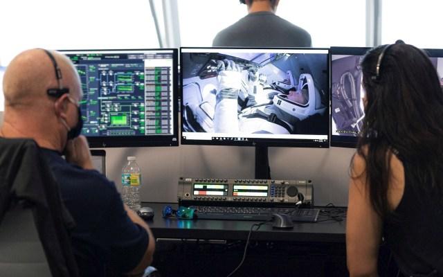 Astronautas que llegaron a EEI desde EE.UU. destacan suavidad del viaje - NASA Misión SpaceX viaje astronautas