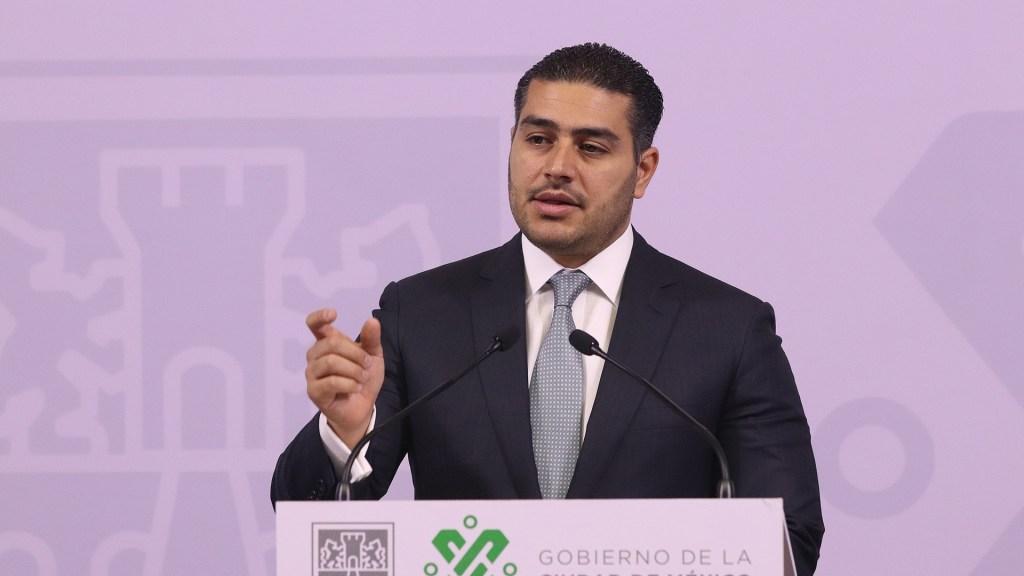 """Señalamientos de sobornos son un absurdo: García Harfuch. """"Nunca ocurrió"""", afirma - Secretario de Seguridad Ciudadana de la Ciudad de México, Omar García Harfuch. Foto de Archivo EFE."""