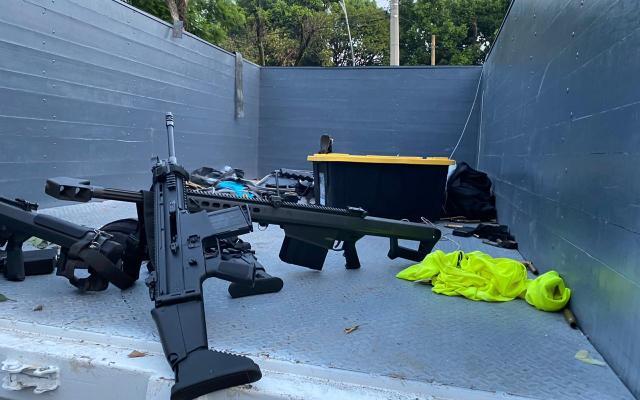 FGJ busca determinar origen de armas utilizadas en atentado a García Harfuch - Atentado Omar Garcia Harfuch CDMX