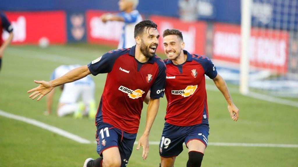 Osasuna logra victoria en el minuto 96 y hunde al Leganés de Javier Aguirre - Foto de @CAOsasuna