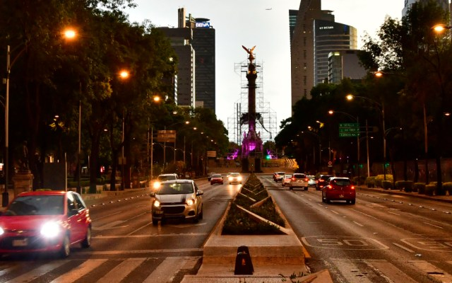 Ciudad de México reporta cerca de 197 mil empleos perdidos entre enero y mayo - Paseo de la Reforma CDMX Angel de la Independencia