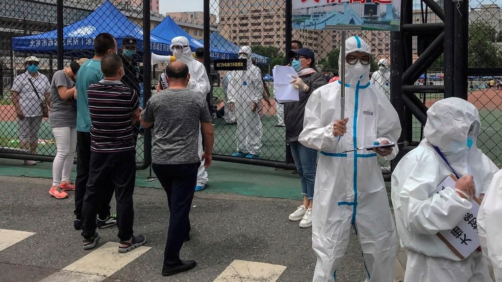 Beijing amplía medidas y restricciones por nuevo brote de COVID-19 - Pekín China coronavirus COVID-19