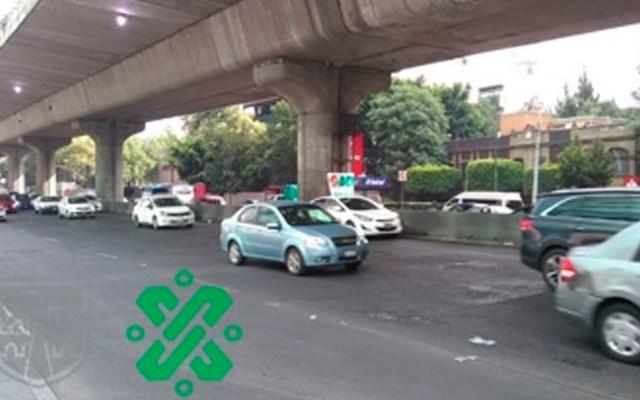 Transportistas del Estado de México retiran bloqueo de Periférico - periférico legaria transportistas