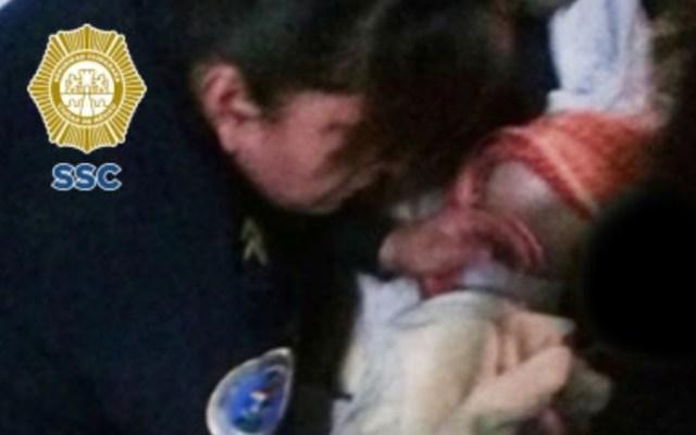 Mujer policía ayuda en labor de parto en la Ciudad de México - Foto de SSC CDMX