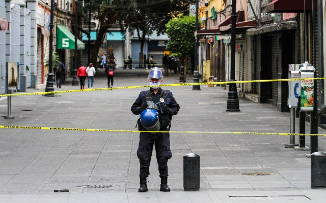 Policías capitalinos recibirán incremento salarial del 9 por ciento: García Harfuch - Foto de Notimex